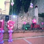 Allestimento con Palloncini per Feste di Compleanno
