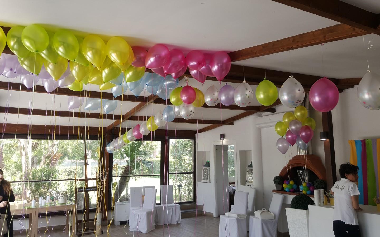 Allestimento palloncini sale eventi